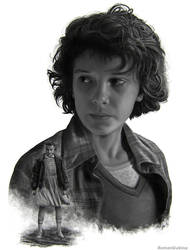 Eleven (Stranger Things) by RomanDubina