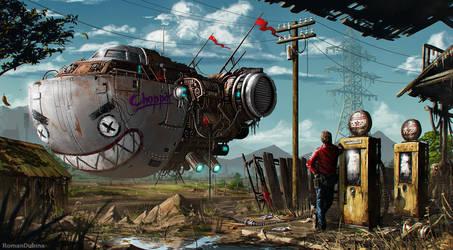 The Chopper by RomanDubina