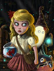 Wendy (Don't Starve) by RomanDubina