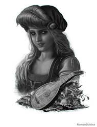 Priscilla (The Witcher 3: Wild Hunt) by RomanDubina
