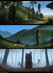The Old Gods (Part 2) by RomanDubina