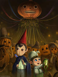 Over the Garden Wall - Pumpkin People by RomanDubina