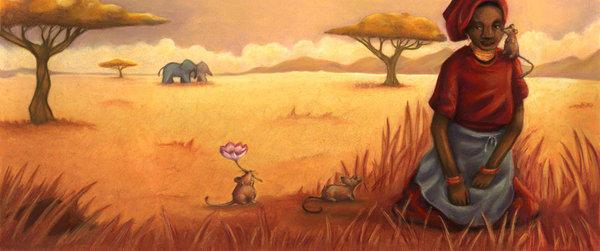 African Cinderel -twilightbeta by childrensillustrator