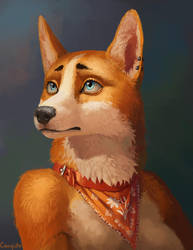 Chopa's portrait by Conqista