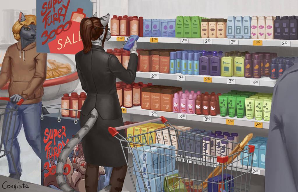 Lauren's day - 7 - Running errands by Conqista