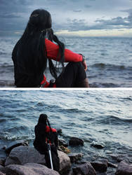 By the sea by MarinaArens