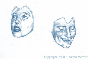 Portrait for Of Two Minds by GlendonMellow
