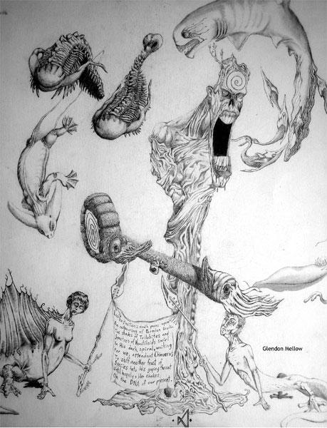 Lord Extinction Yawns... by GlendonMellow