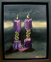 DNA-Candle Vanitas III by GlendonMellow