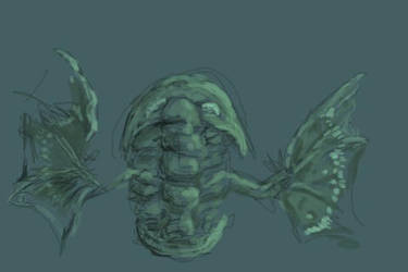 Winged Trilobite - Brushes app by GlendonMellow