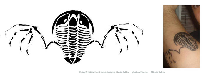 FlyingTrilobite tattoo+concept by GlendonMellow