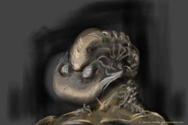 Trilobite Boy - iPod sketch by GlendonMellow