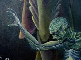 Symbiosis, Human -detail by GlendonMellow