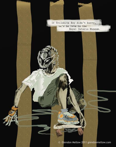 Trilobite Boy no.2: Late by GlendonMellow