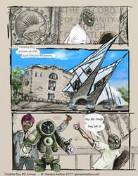 Trilobite Boy no.5 - Arrival by GlendonMellow