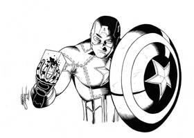Captain America - The Avengers by GabrielJardim