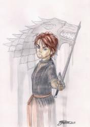 Arya Stark by GabrielJardim