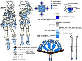 Sailor Aisu Reference Sheet by YurikaiSuratu