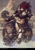 Leopard Girl-2 by bayardwu