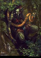 Yellow snake by bayardwu