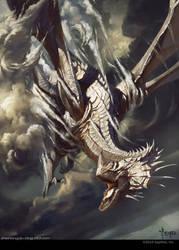 silver dragon by bayardwu