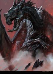 Corrupt Dragon by bayardwu