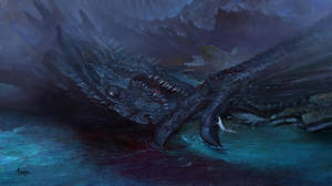 Fall of the Dragon by bayardwu
