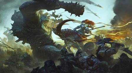 Ms. Hammer- Ram legion by bayardwu