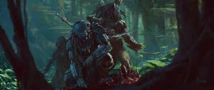 Predators-Tracing by bayardwu