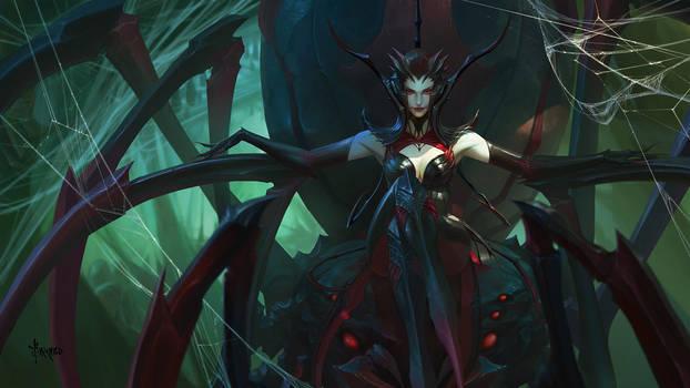 Spider Queen by bayardwu