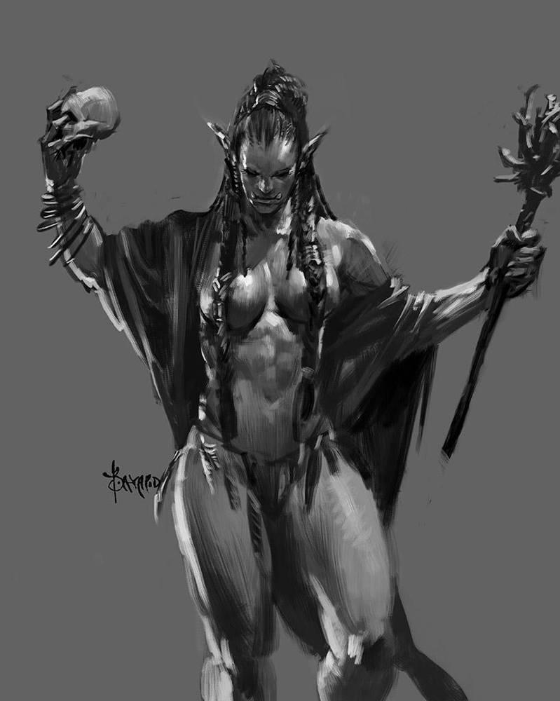 Ms. Orc-09 by bayardwu