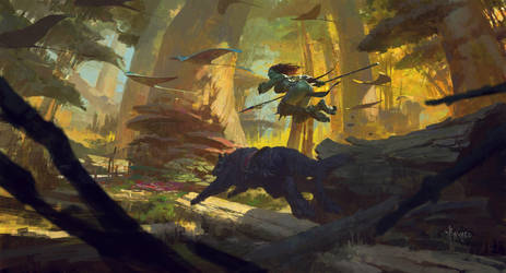 Ms.Orc- Autumn Memories by bayardwu