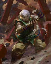 Fighter by bayardwu