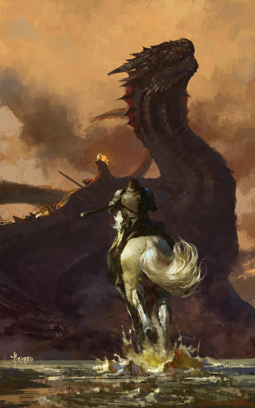 Come on! Jaime!! (print for sale) by bayardwu
