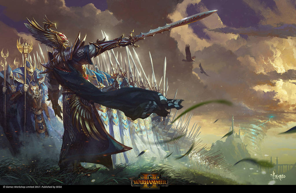 Total War Warhammer 2 Wallpaper: High Elves By Bayardwu On DeviantArt