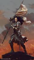 Joan Of Arc by bayardwu