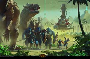 Lizardmen by bayardwu