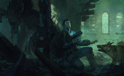 Fallout 4-Museum of Witchcraft by bayardwu
