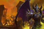 Gameinformer Cover-Warcraft 3: Reforged by bayardwu