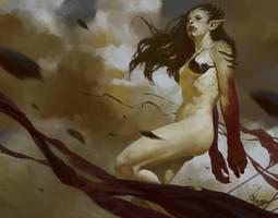 Orc Girl- Who am I by bayardwu