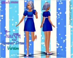 Newcomer Fuujin Summer Dress Version DL by Adrianbrazt10