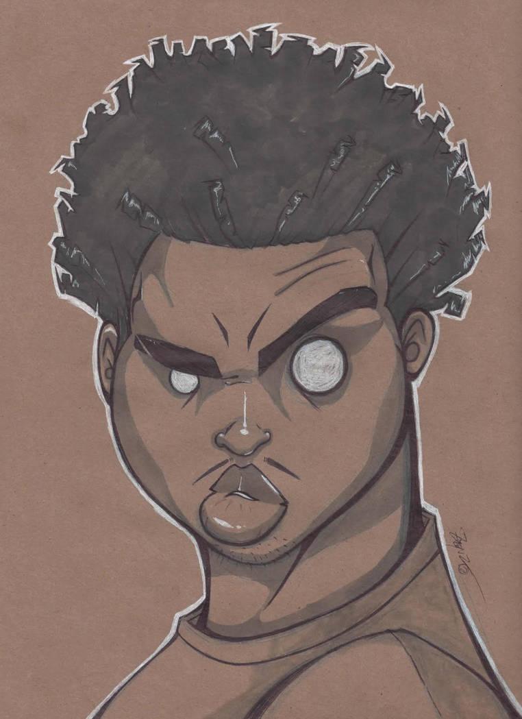 self Portrait by Pumaboy3d