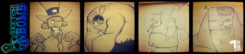 June Sketchbomb 2012 by Pumaboy3d