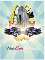 United States of America by Muzfyn