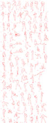 100 Body Gestures by AOKStudio