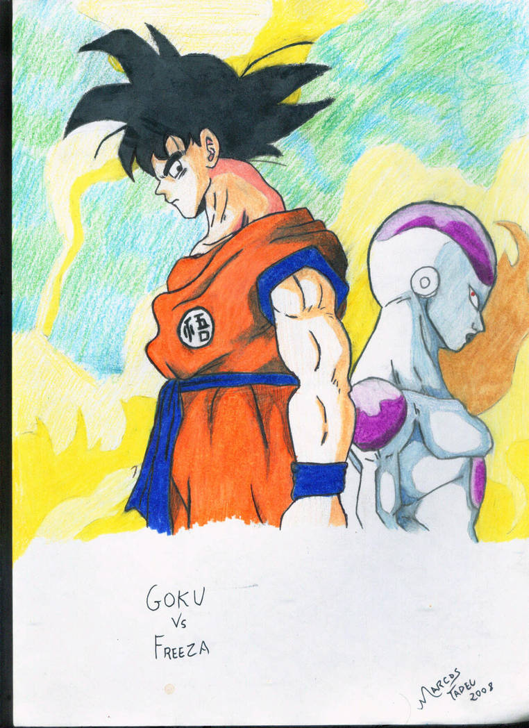 Goku vs Freeza by MarcosTNH