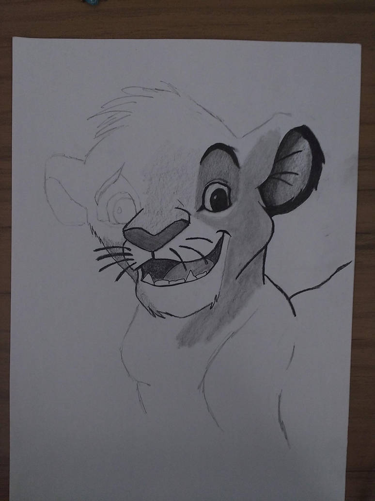 Simba, Lion King by MarcosTNH