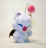 Mog the Moogle Fuzzy Munny by mesmithy
