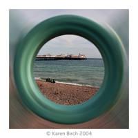 Brighton Radial Blur by karenbirch