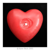 Burning Heart by karenbirch